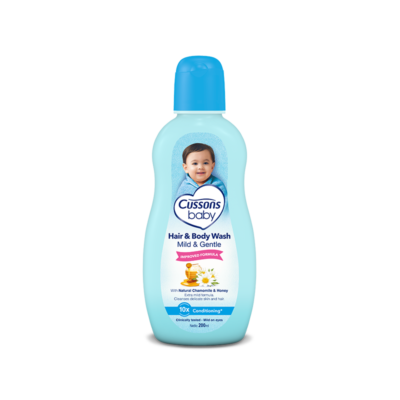 Cussons Baby Mild & Gentle Hair & Body Wash