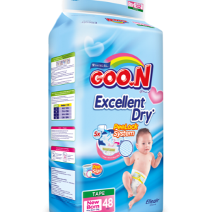 GOO.N Premium Tape Jumbo Pack Ukuran New Born 01