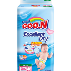 GOO.N Premium Tape Jumbo Pack Ukuran New Born 02