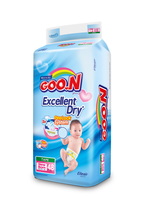 GOO.N Premium Tape Jumbo Pack Ukuran New Born 03
