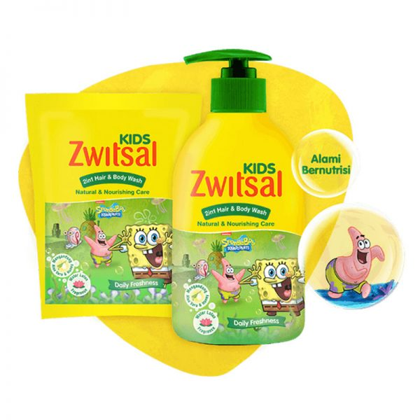 Zwitsal-Kids-2-in-1-Hair-and-Body-Natural-&-Nourishing-Care-Green