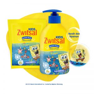 Zwitsal-Kids-Bubble-Bath-Clean-&-Fresh-Blue