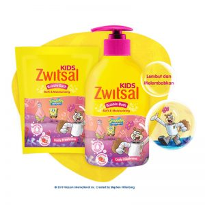 Zwitsal-Kids-Bubble-Bath-Soft-&-Moisturizing-Pink