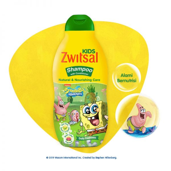 Zwitsal-Kids-Shampoo-Natural-&-Nourishing-Care-Green