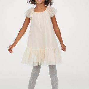 H&M Kids Glittery Tulle Dress