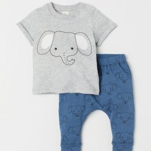 H&M Kids T-shirt And Trousers