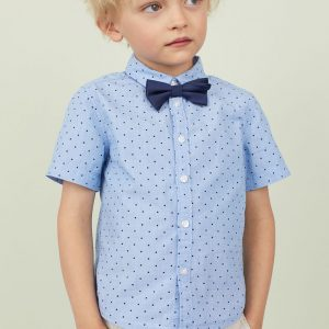 H&M Kids Shirt With A Tie/bow Tie