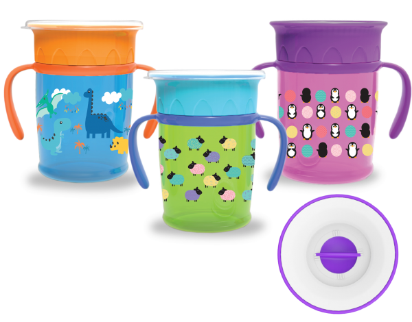 360° Sipper Cup With Handle