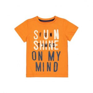 Mothercare Orange Sun Shine T-shirt