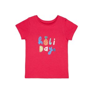 Mothercare Pink Holiday T-shirt
