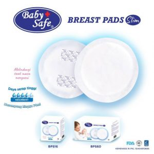 BabySafe Breast Pad Slim Daya Serap 70 ml