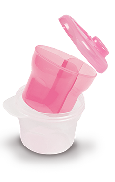 BabySafe Milk Powder Dispenser with Inner Cup