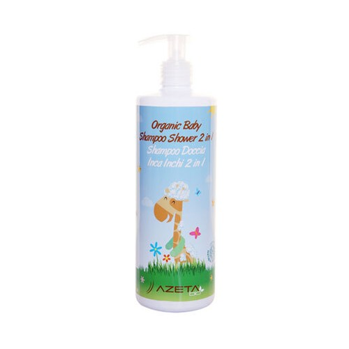 Azeta Organic Baby Shampoo Shower 2 in 1 200ml