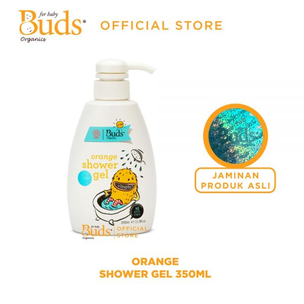Buds Organics BFK - Orange Shower Gel 350 ml