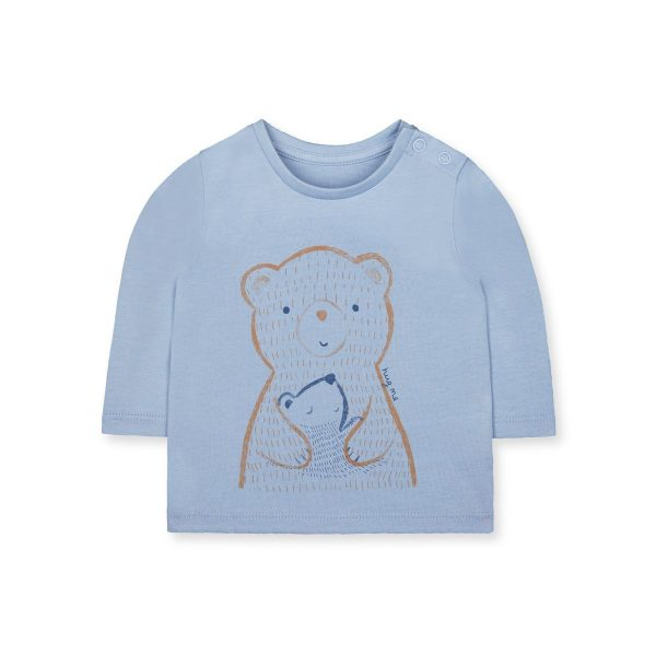Mothercare Blue Hug Me Bears T-shirt
