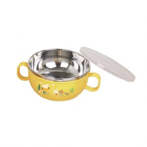 Stainless Bowl With Cover 240 ml