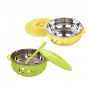Stainless Bowl with Cover 450 ml