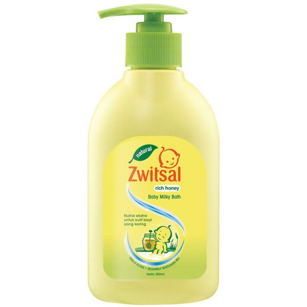 Zwitsal Baby Bath Natural Rich Honey 300 ml