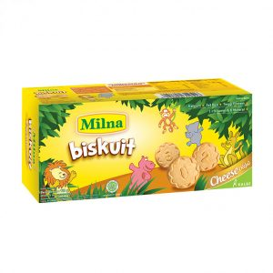 Milna Biskuit Toddler Cheese 110gr