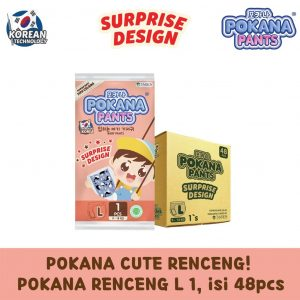 Pokana Pants Surprise Design L 48 Pcs - Sachet