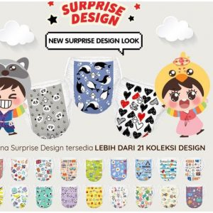 Pokana Pants Surprise Design S 22 Pcs [1 Bag]