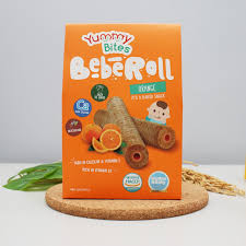 Yummy Bites BebeRoll Orange [40g]