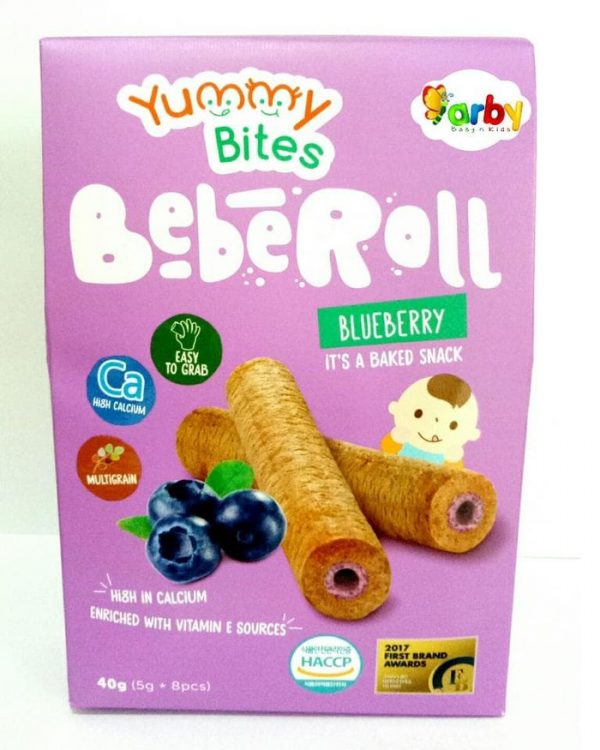 Yummy Bites Beberoll Blueberry [40 g]