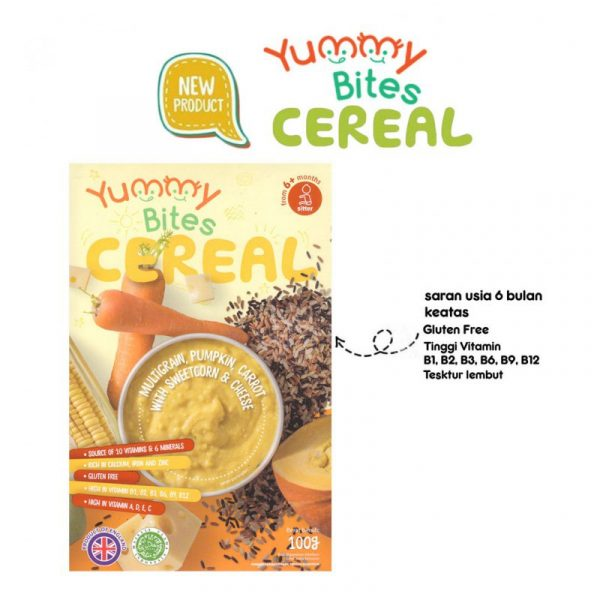 Yummy Bites Pumpkin Carrot Cheese Cereal [100 g]